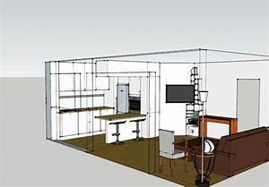 photos de cuisines good dans cette cuisine grise pleine With delightful modele plan de maison 0 modale luna