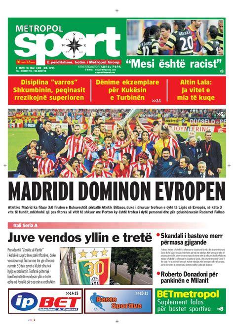 Gazeta Metropol Sport by Gazeta Metropol - Issuu