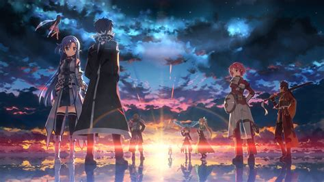 sword art  game wallpapers hd wallpapers id