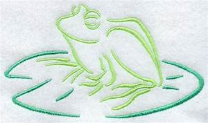 Drawing Of A Frog On A Lily Pad | www.imgkid.com - The ...