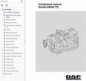 Daf Ecolite 6s Series Component Manual Pdf