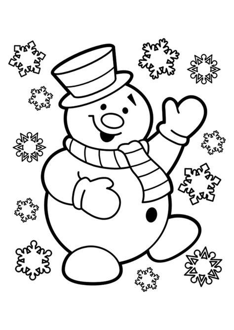 Sneeuwman Kleurplaat Simpel by Kleurplaat Sneeuwpop Afb 29947 Images
