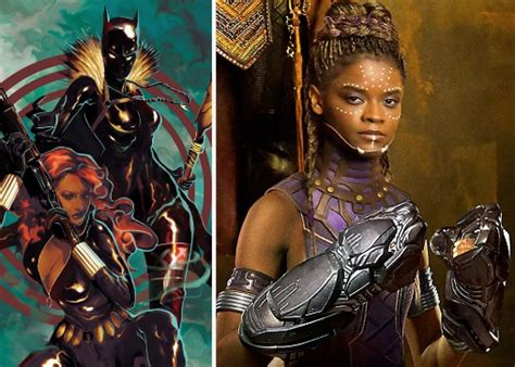black panther character shuri  comic book spin