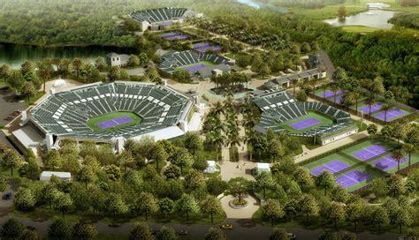 photo renderings sony open plans    million  year renovation tennis grandstand