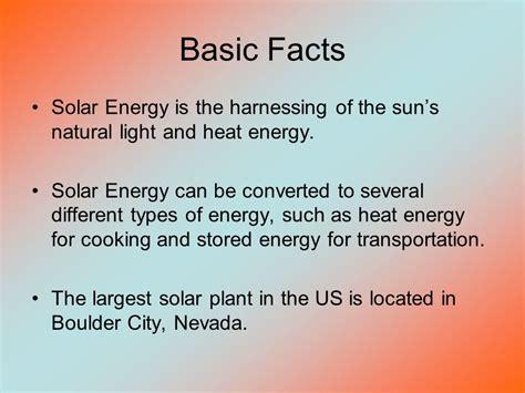 light energy facts alternative fuels propane solar energy ppt