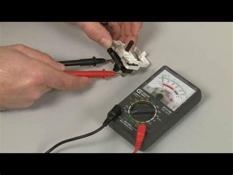 dryer won t start two terminal switch testing repair