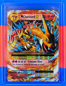 POKEMON MEGA CHARIZARD EX - XY EVOLUTIONS 13/108 - ULTRA ...