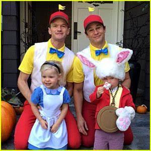 Neil Patrick Harris & David Burtka's Family Halloween ...