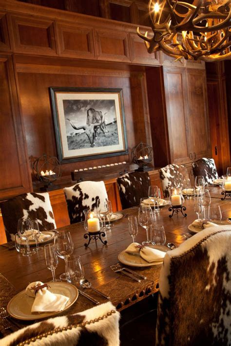 cowhide dining chairs grace  lovely dining areas home design lover