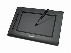 Turcom Graphic Drawing Tablet  U0026 Stylus