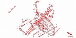 Panneau Carter Moteur D Nc750x Xa Engine Nc750xae 2014 Nc