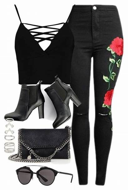 Party Polyvore Outfit Clothes Outfits Forever Grunge
