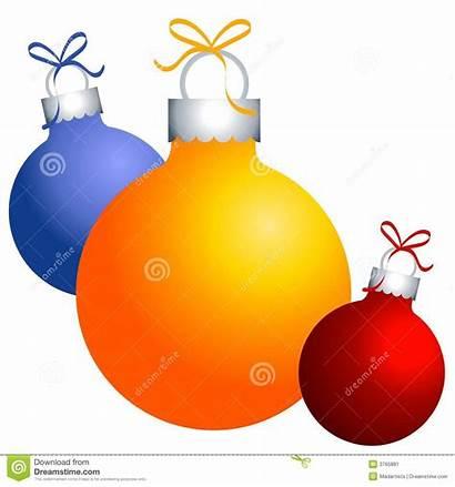 Clip Christmas Ornaments Decorations Clipart Festive Gold