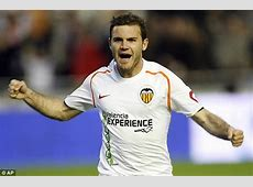 Arsenal told Valencia winger Juan Mata will cost £20m