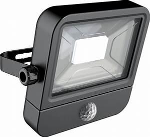 Projecteur à Détection : projecteur led mural 800 lumens ip65 10w 120 6500k ~ Edinachiropracticcenter.com Idées de Décoration