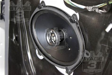 kicker door speakers 2013 f150 ecoboost platinum build