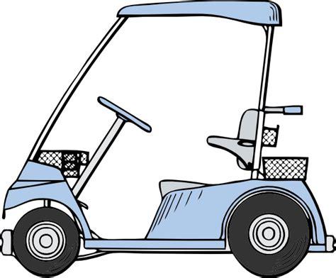 Golf Cart Clip Golf Cart Clip At Clker Vector Clip
