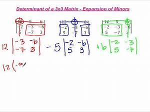 Determinante Berechnen 4x4 : determinants 4 x 4 matrix example 1 doovi ~ Themetempest.com Abrechnung