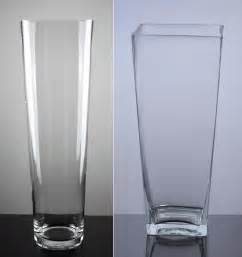 Large Tall Glass Vases