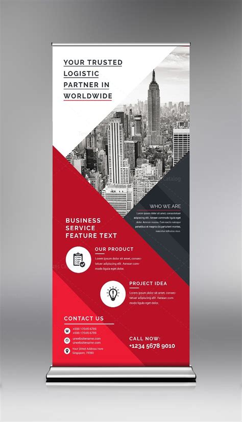 real estate roll  banner template  template catalog