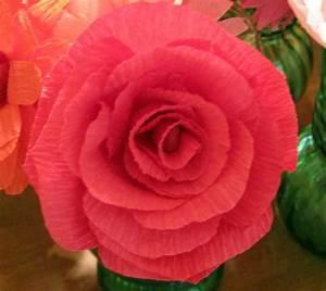 Comment Faire Des Roses En Papier : comment cr er une fleur en papier cr pon astuces et photos ~ Melissatoandfro.com Idées de Décoration