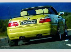 BMW M3 Cabriolet E46 specs 2001, 2002, 2003, 2004