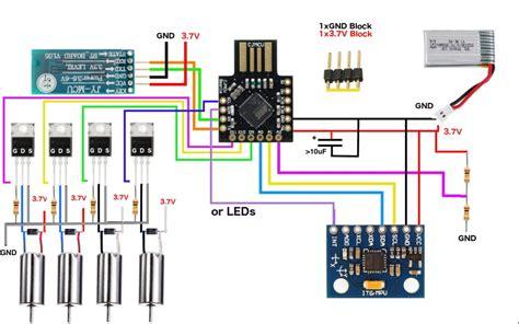 arduino micro quadcopter  steps