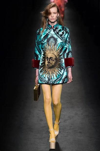 Gucci Fall Milan Winter Runway Bold Models