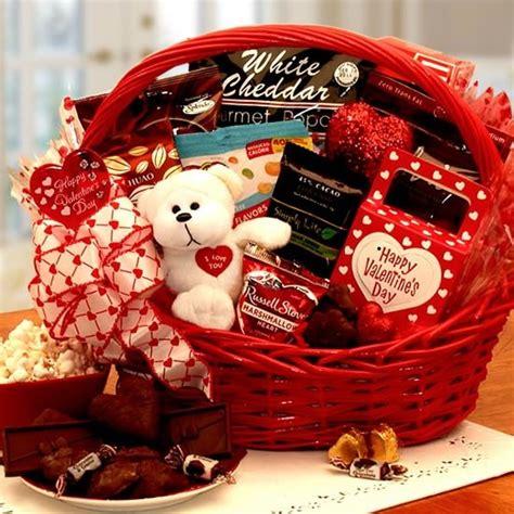 Sugar Free Valentine Gift Basket   Valentines Day Gifts ...