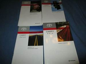 2014 Toyota Camry Owners Manual Set
