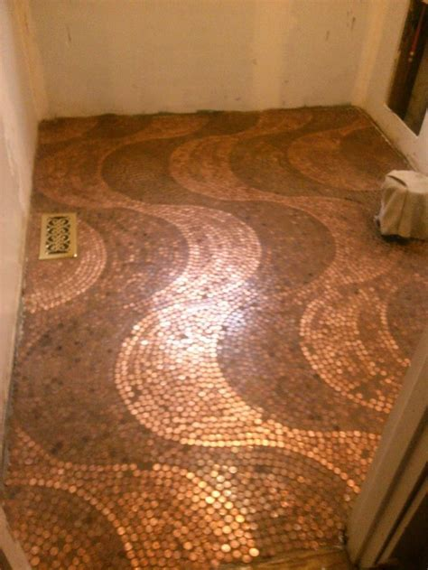 Best 25  Pennies floor ideas on Pinterest   Penny flooring