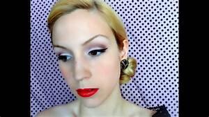 Coiffure Des Années 50 : maquillage ann es 50 youtube ~ Melissatoandfro.com Idées de Décoration