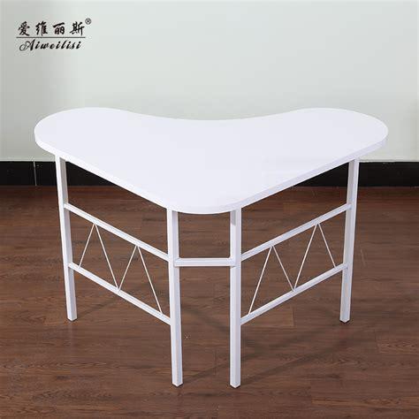 en forme de coeur aiweilisi bureau ordinateur de bureau coin bureau moderne minimaliste ikea