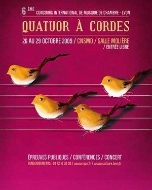 concours musique de chambre quatuors de demain au concours international de musique de
