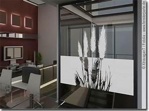Klebefolie Fenster Sichtschutz : sichtschutzfolie pampasgras ~ Watch28wear.com Haus und Dekorationen