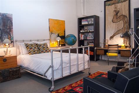41151 industrial interior design bedroom beds on casters 15 designs that wheel in style and comfort