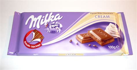 Milka Alpine Cream Chocolate Review