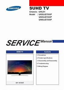 Samsung Un60js7000 Un60js7000f Un60js7000fxza Service