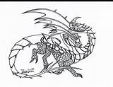 Dragon Coloring Pages Whip Razorwhip Razor Dragons Drawings Template sketch template