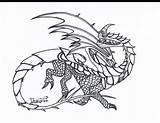Dragon Coloring Razor Whip Razorwhip Dragons Berk Drawings Sketch Template sketch template