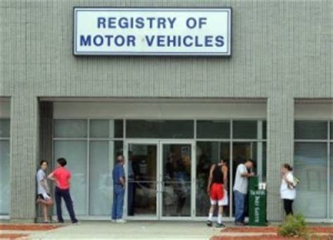 Registry Of Motor Vehicle Offices In Taunton, Brockton To