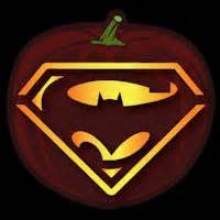 Nfl Pumpkin Carving Patterns Printable by Superman Vs Batman Co Stoneykins Pumpkin Carving