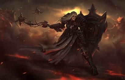 Diablo Crusader Shield Reaper Iii Weapons Monster