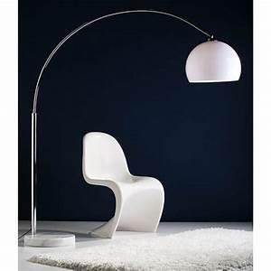 Stehlampe Retro Design : original big bow retro design bogenlampe mit dimmer lounge stehlampe marmor wei ebay ~ Sanjose-hotels-ca.com Haus und Dekorationen