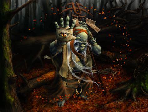World Of Warcraft Warlock Wallpaper Orc Wizard By Sumerky On Deviantart
