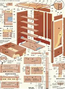 COOL NEW FURNITURE PLANS, GUN CABINET, DRESSOR, TABLE HOME