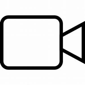 Videokamera Symbol Kostenlos von iOS7 Minimal Icons