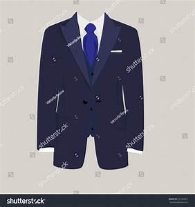 Illustration Man Suit Tie Business Suit Stock Vector ...