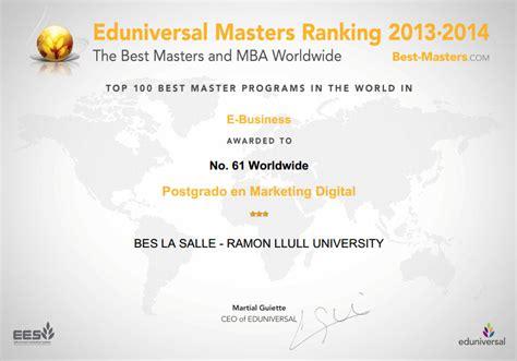 Digital Marketing Masters Ranking by Community M Y Marketing Digital En El Ranking Eduniversal