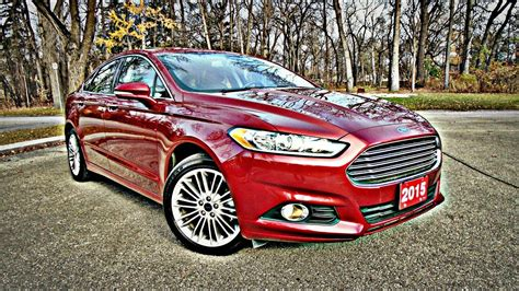 ford fusion se luxury review youtube